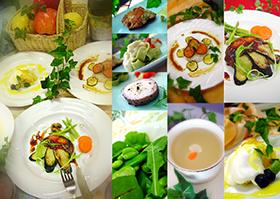 健康の体は、毎日の食事から作られます。野菜、果物、豆類、穀物類には、 様々な栄養と働きがあります。